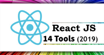 React.js 14 Tools for Developers in 2019